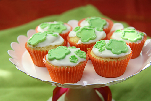 Mini-Cupcakes mit Creamcheese-Topping