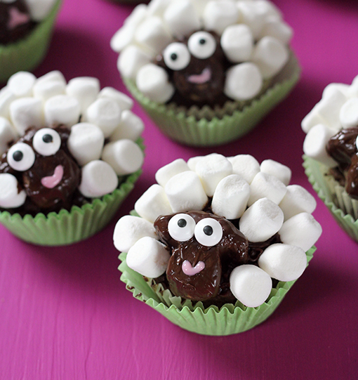 Sheep-Cupkakes